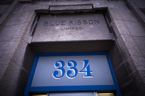 Blue Ribbon/334